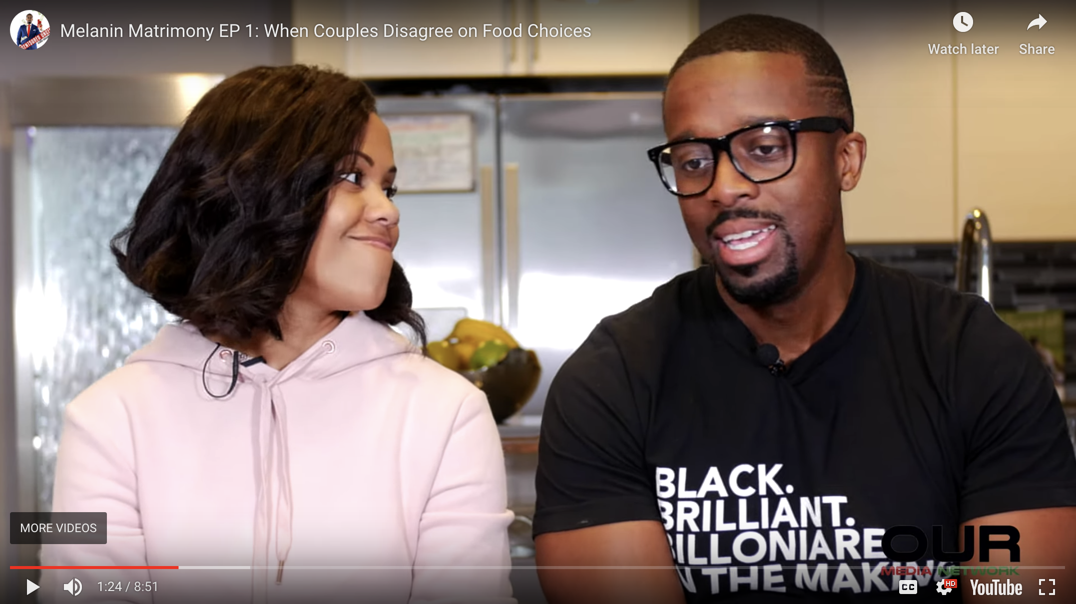 Melanin Matrimony EP 1: When Couples Disagree on Food Choices